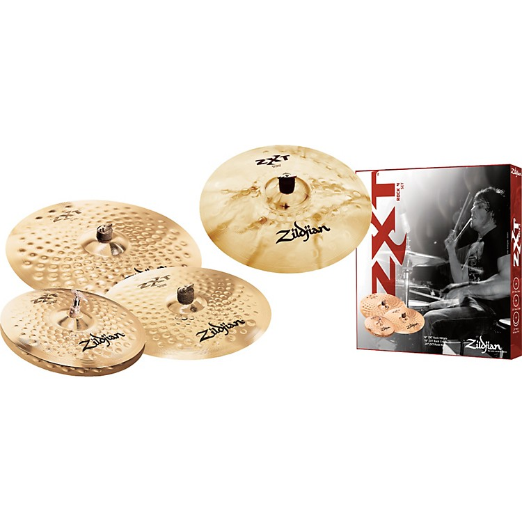 Zildjian ZXT Rock Bonus Box Set with Free 18