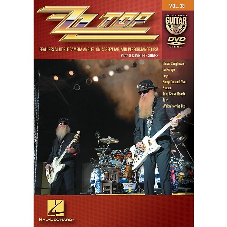 Hal LeonardZZ Top - Guitar Play-Along DVD Volume 38