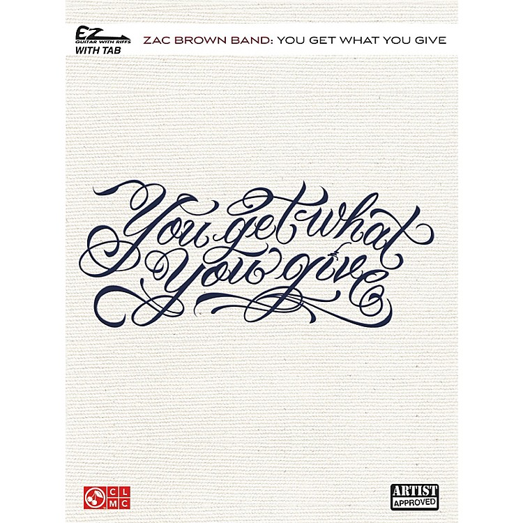 Cherry LaneZac Brown Band - You Get What You Give Easy Guitar Tab
