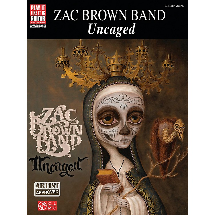Cherry LaneZac Brown Band  Uncaged Guitar Tab Songbook