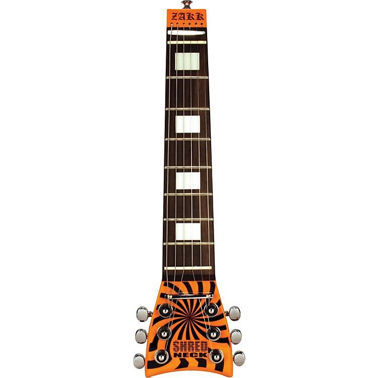 ShredneckZakk Wylde Signature Practice Guitar NeckWhite and Black Bull's Eye