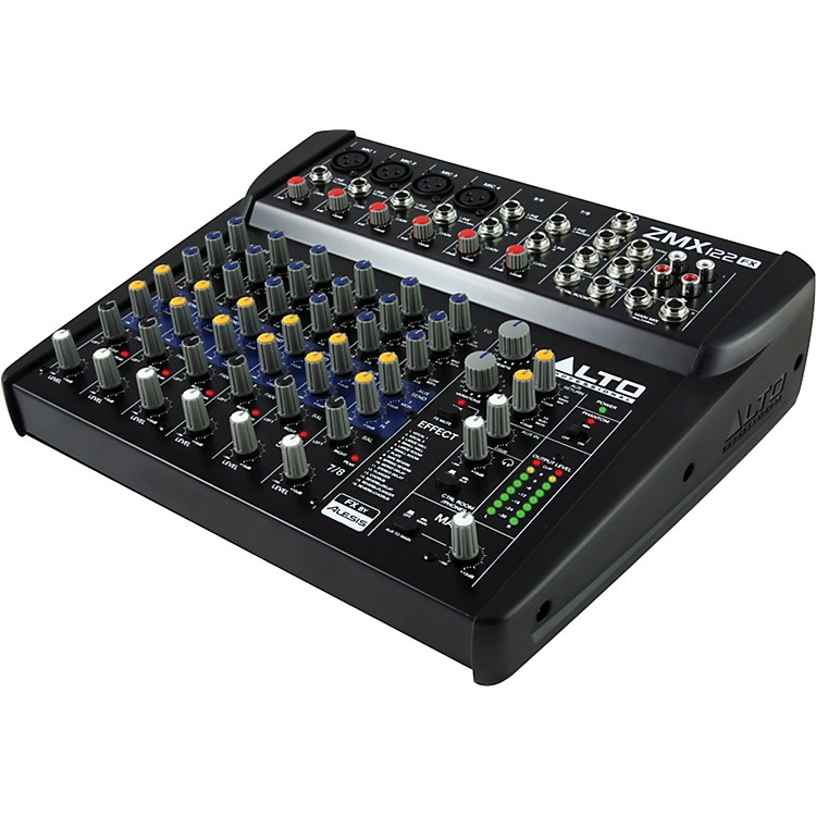 Alto Zephyr Series ZMX122FX 8-Channel Compact Mixer with Effects