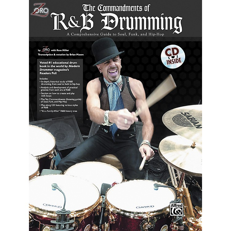 Alfred Zoro Commandments of R'n'B Drumming Book/CD