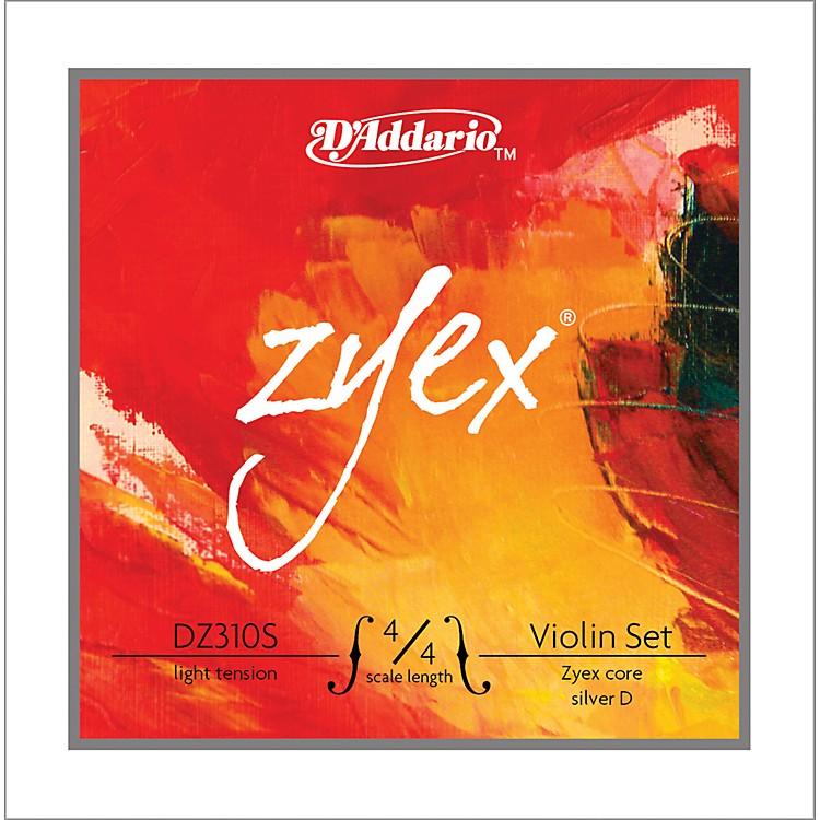 D'AddarioZyex 4/4 Violin String Set Silver