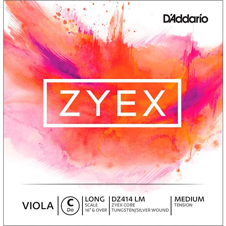 D'AddarioZyex Series Viola C String16+ Long Scale Medium