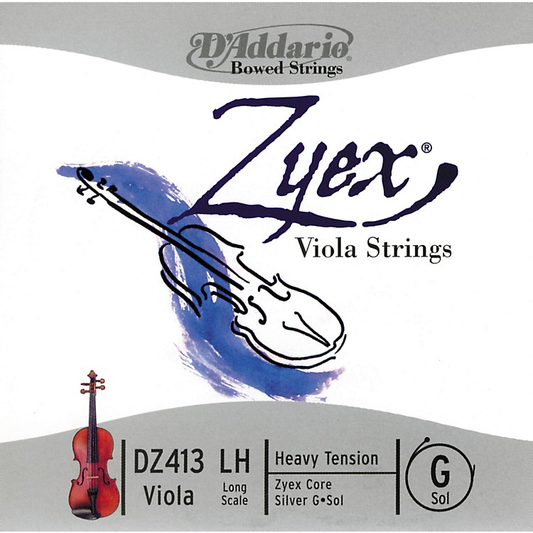 D'AddarioZyex Series Viola G String16+ Long Scale Heavy