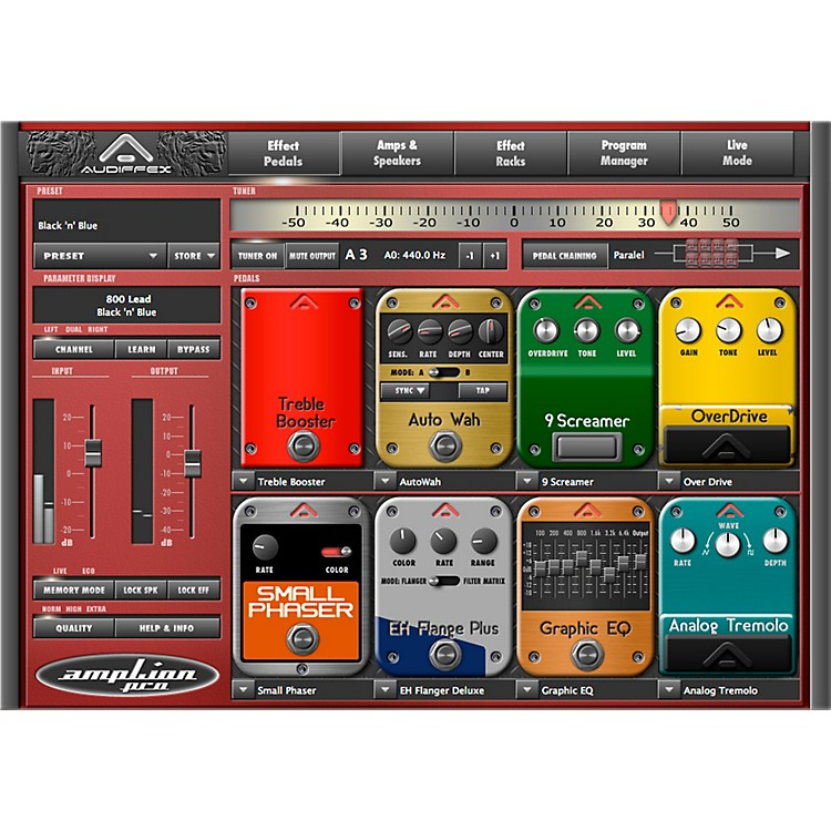 Audiffex ampLion Pro Special Guitar Gear Simulation Software