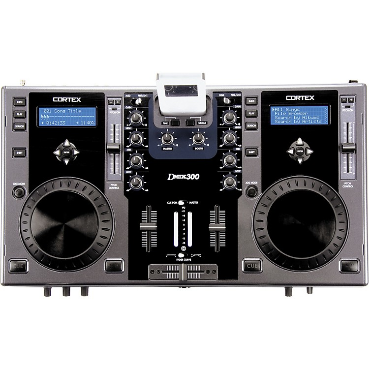 Cortex dMIX-300 Digital Music Control Station Grey