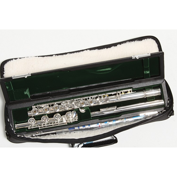 Jupiter diMedici Series 911 Intermediate Flute 911RBS - Sterling Silver Head, B Foot, Inline G 886830101182