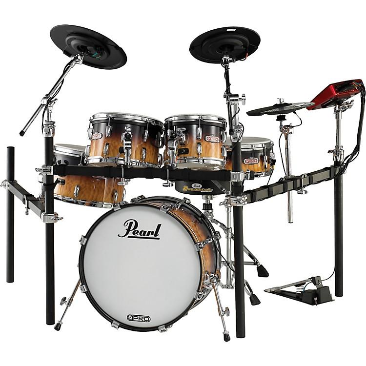Pearle-Pro Live Electronic Acoustic Drum SetArtisan II