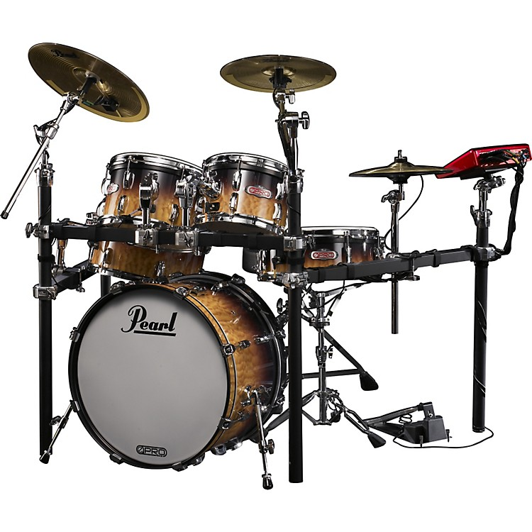 Pearl e-Pro Live Electronic Drumset with E-Classic Cymbals Artisan II