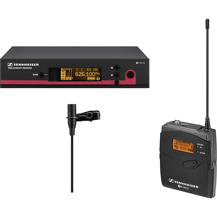 Sennheiserew 110 G3 Omni-Directional Lavalier SystemBand B2
