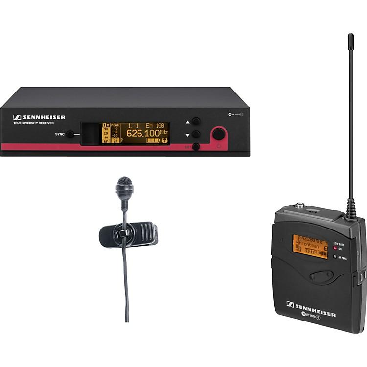 Sennheiserew 122 G3 Cardioid Lavalier Wireless SystemBand A (516-558 MHz)