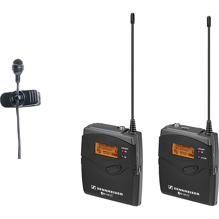 Sennheiserew 122-p G3 Cardioid Lavalier Wireless System