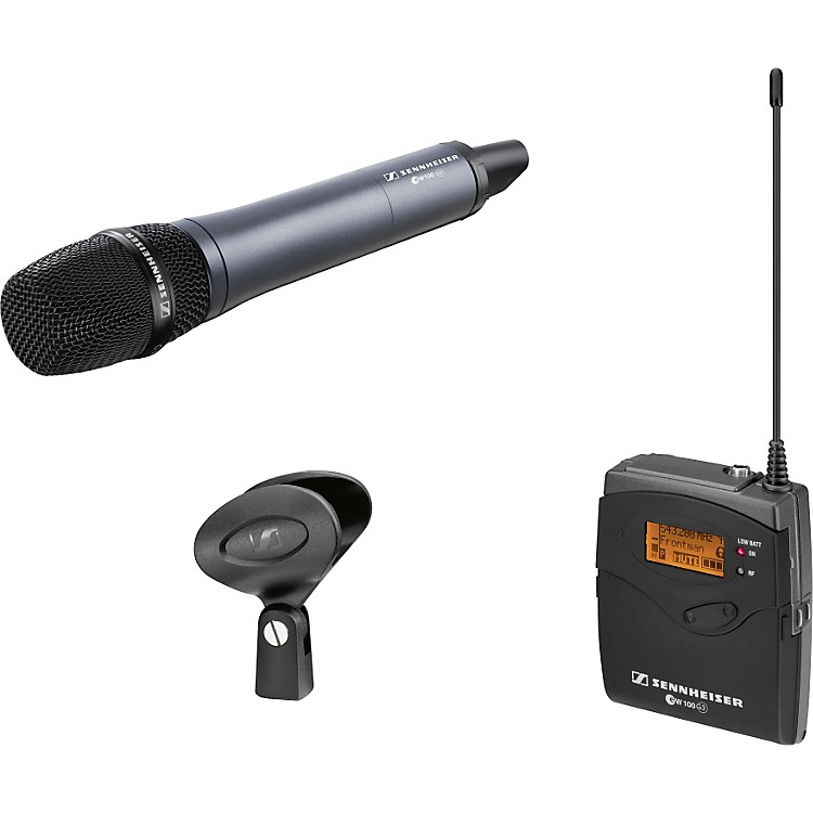 Sennheiser ew 135-p G3 Handheld Wireless Microphone System Band A (516–558 MHz)