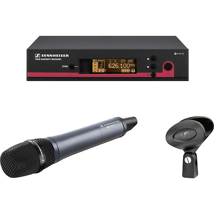 Sennheiser ew 145 G3 Supercardioid Wireless System Band A