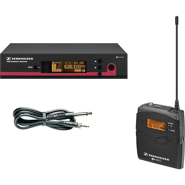 Sennheiserew 172 G3 Instrument Wireless SystemBand B