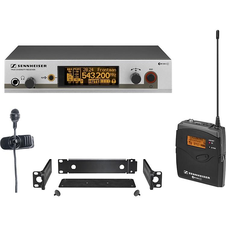 Sennheiserew 322 G3 Cardioid Lavalier Wireless SystemBand A