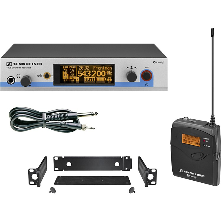 Sennheiserew 572 G3 Pro Instrument Wireless SystemBand A (516-558 MHz)