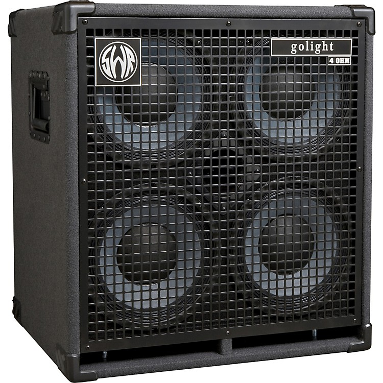 SWR golight 800W 4X10 Bass Speaker Cabinet Black 4 Ohms