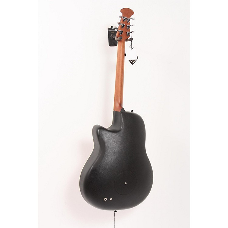 Ovation iDea Celebrity Acoustic-Electric Guitar with Built-In MP3 Recorder Cherry Burst 886830253850