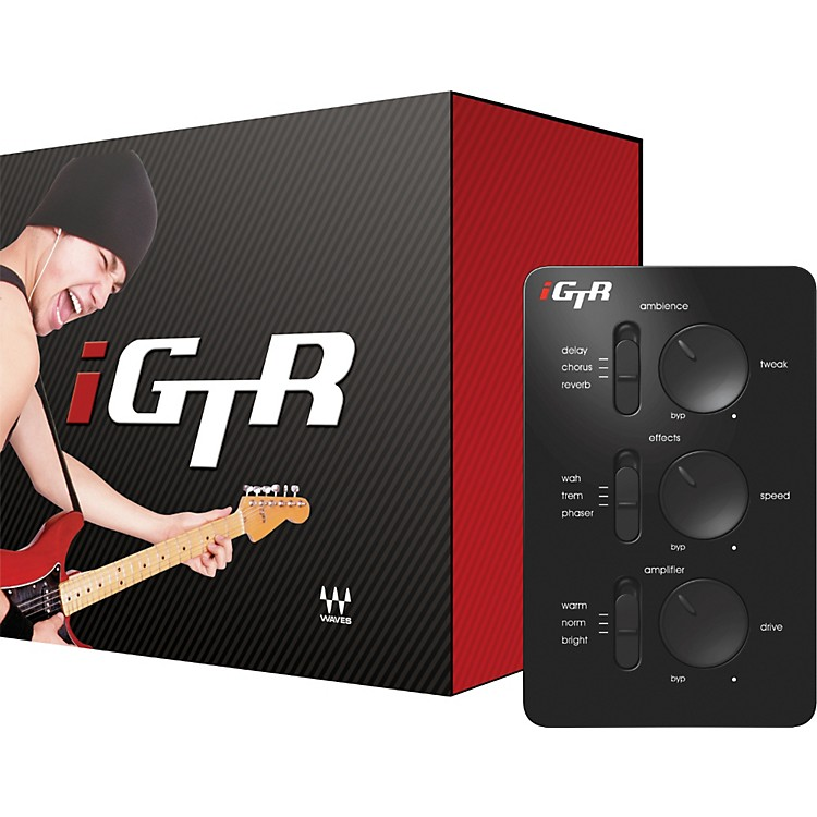 WavesiGTR Modeling Guitar Headphone Amp
