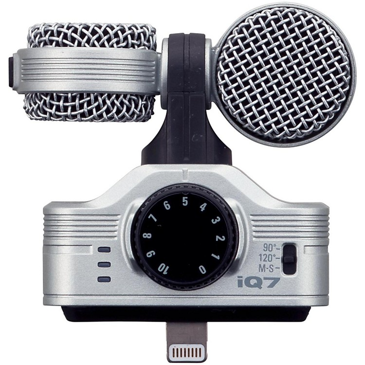 ZoomiQ7 MS Stereo Microphone for iOS