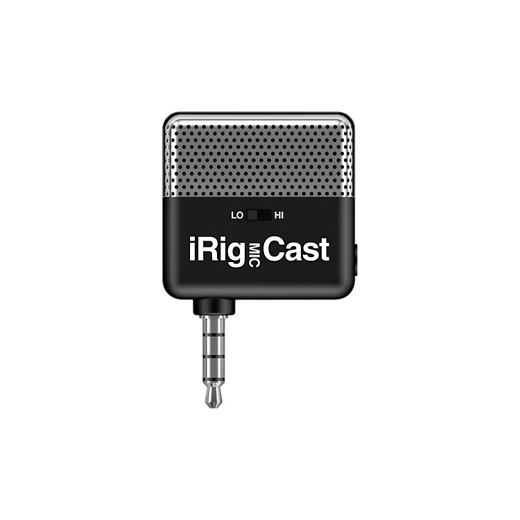 IK MultimediaiRig MIC Cast Voice Recording Mic For iPhone/iPod Touch/iPad