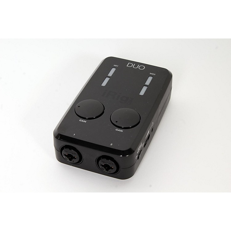IK Multimedia iRig Pro Duo Audio/MIDI Interface for iOS and Mac Regular 888365911915