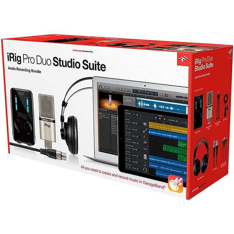 IK MultimediaiRig Pro Duo Studio Suite