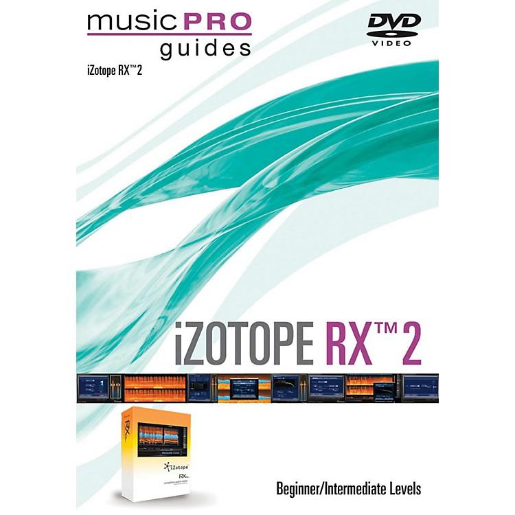 Hal LeonardiZotope RX 2 Music Pro Guide Series (Beginner/Intermediate) DVD