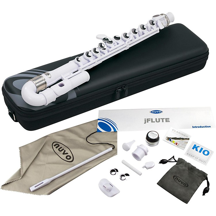 Nuvo jFlute Plastic Junior Flute Kit White