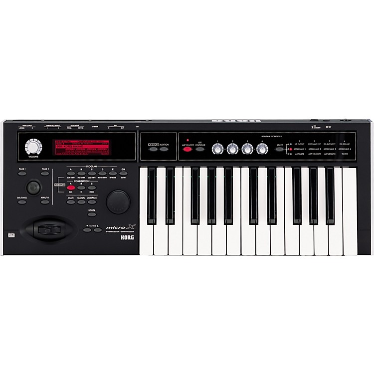 Korg microX Tabletop Synthesizer Controller