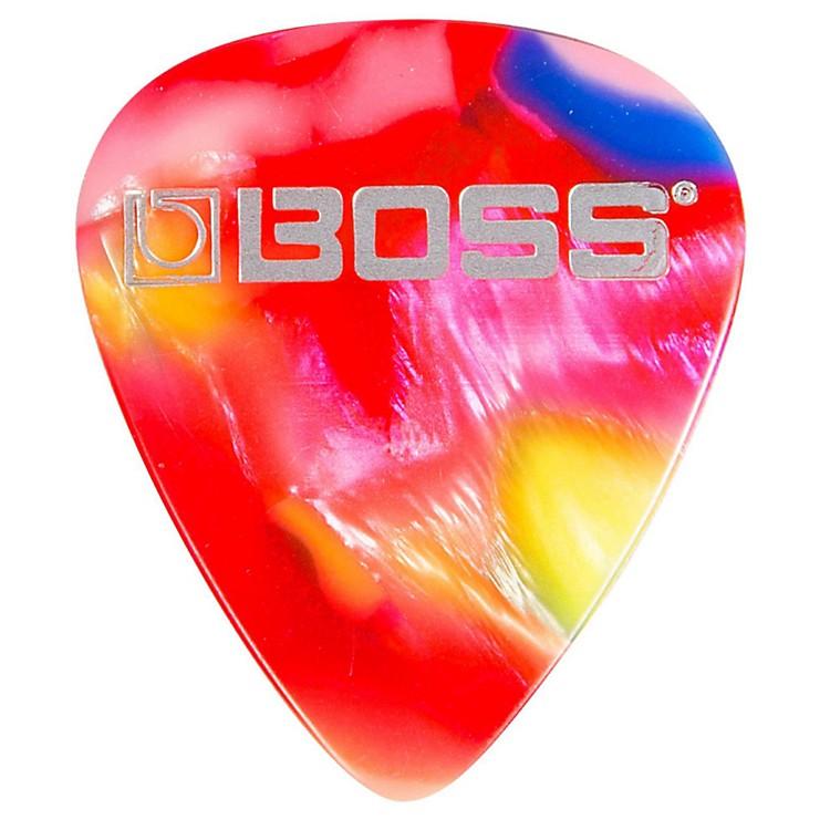 Bossmosaic Celluloid Guitar PickThin12 Pack