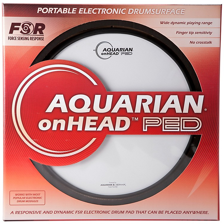 AquarianonHEAD Portable Electronic Drumsurface13 in.