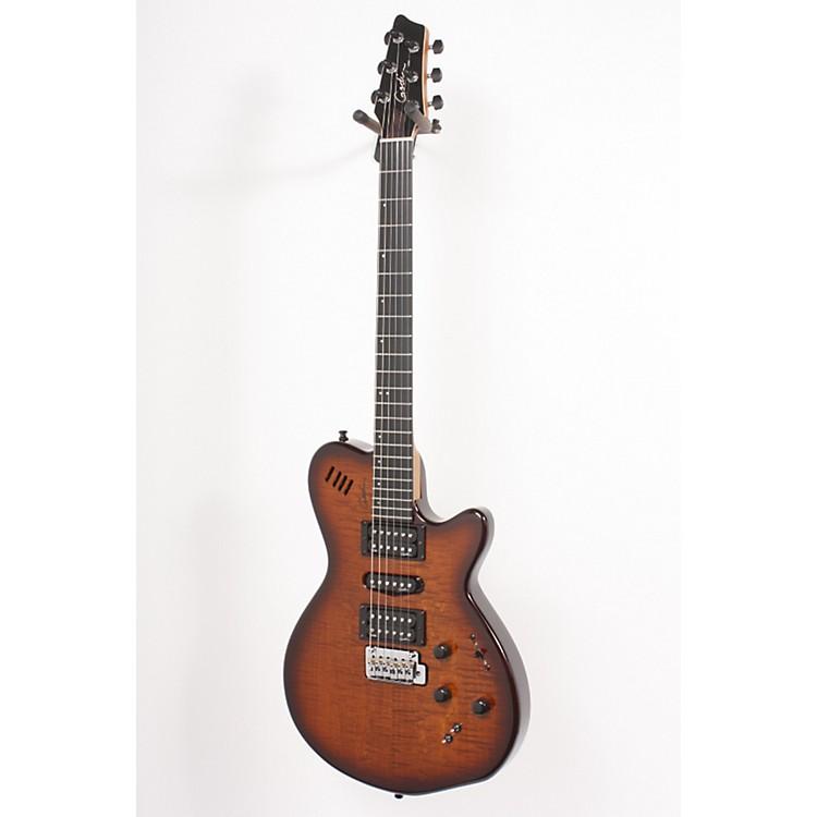 GodinxtSA Flame Electric GuitarLight Burst886830583780