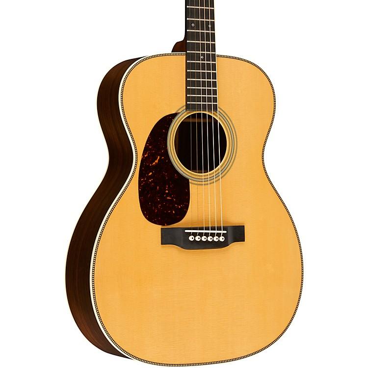 Martin000-28 Standard Auditorium Left-Handed Acoustic GuitarAged Toner