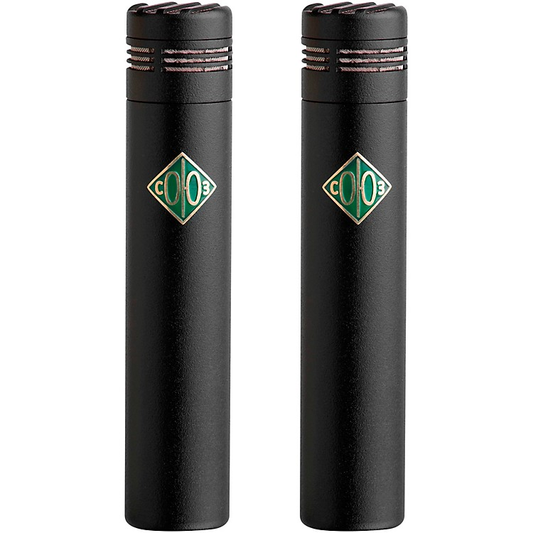 Soyuz Microphones 013 FET-M-B Matched Pair Small Diaphragm FET Microphones Black Finish (cardioid capsule, 10dB pad)
