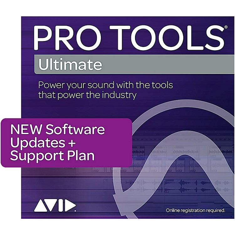 Avid1-Year Updates + Support for Pro Tools | Ultimate Perpetual License Expired Plan (Boxed)