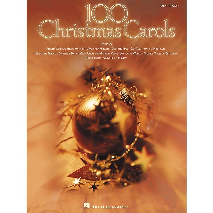 Hal Leonard100 Christmas Carols For Easy Piano