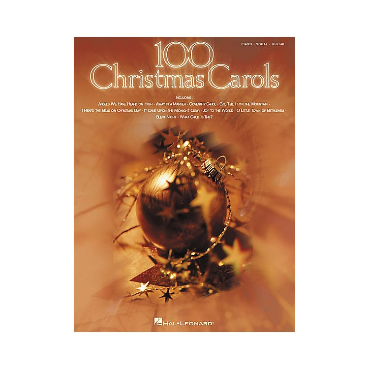 Hal Leonard100 Christmas Carols Piano, Vocal, Guitar Songbook