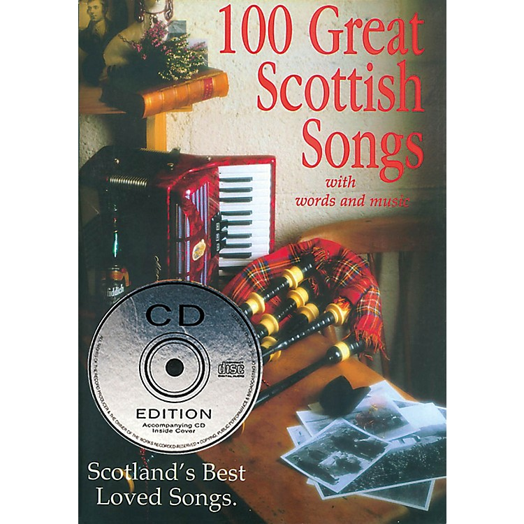 Waltons100 Great Scottish Songs (Scotland's Best Loved Songs) Waltons Irish Music Books Series Softcover with CD