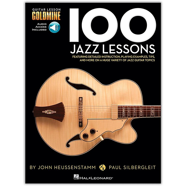 Hal Leonard100 Jazz Lessons  Goldmine Series Book/CD
