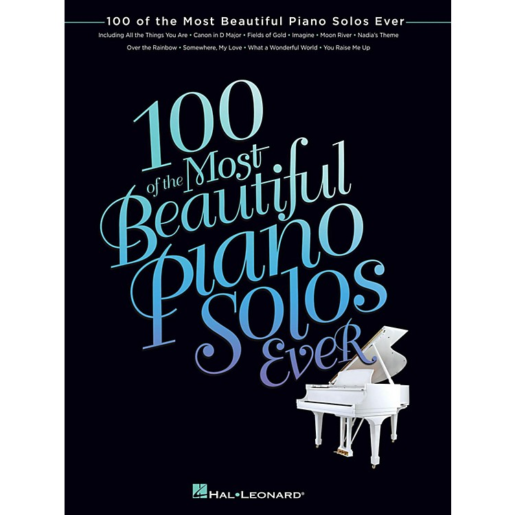 Hal Leonard100 Of The Most Beautiful Piano Solos Ever for Piano Solo
