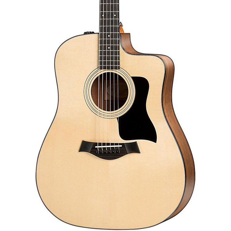Taylor 100 Series 2017 110ce Dreadnought Acoustic-Electric Guitar Natural