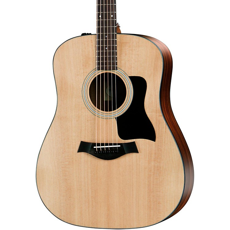 Taylor 100 Series 2017 Rosewood 110e Dreadnought Acoustic-Electric Guitar Natural