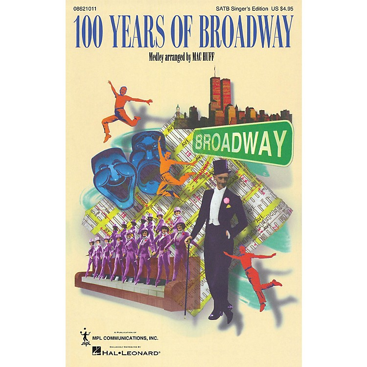 Hal Leonard100 Years of Broadway (Medley) Combo Parts Arranged by Mac Huff
