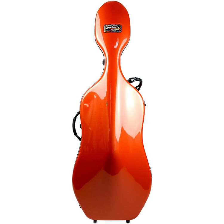 Bam 1002N Newtech Cello Case without Wheels Terracotta