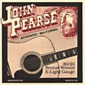 John Pearse 100XL 80/20 Bronze Acoustic Guitar Strings
