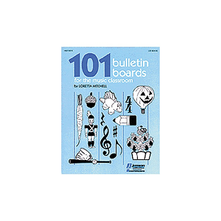 Hal Leonard 101 Bulletin Boards For the Music Classroom Book